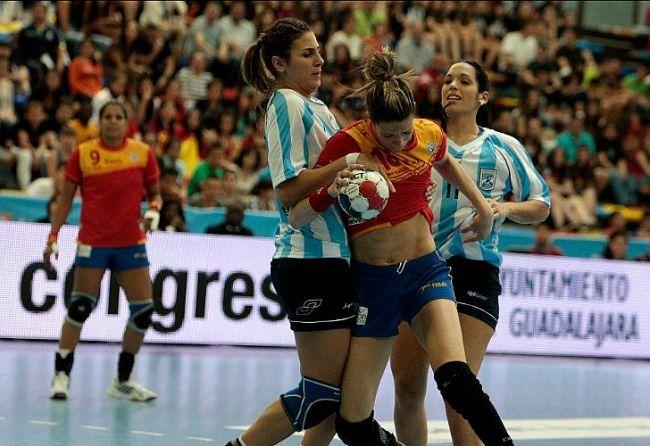 La selección argentina de handball, fuera de Londres. / Gentileza Confederación Argentina de Handball