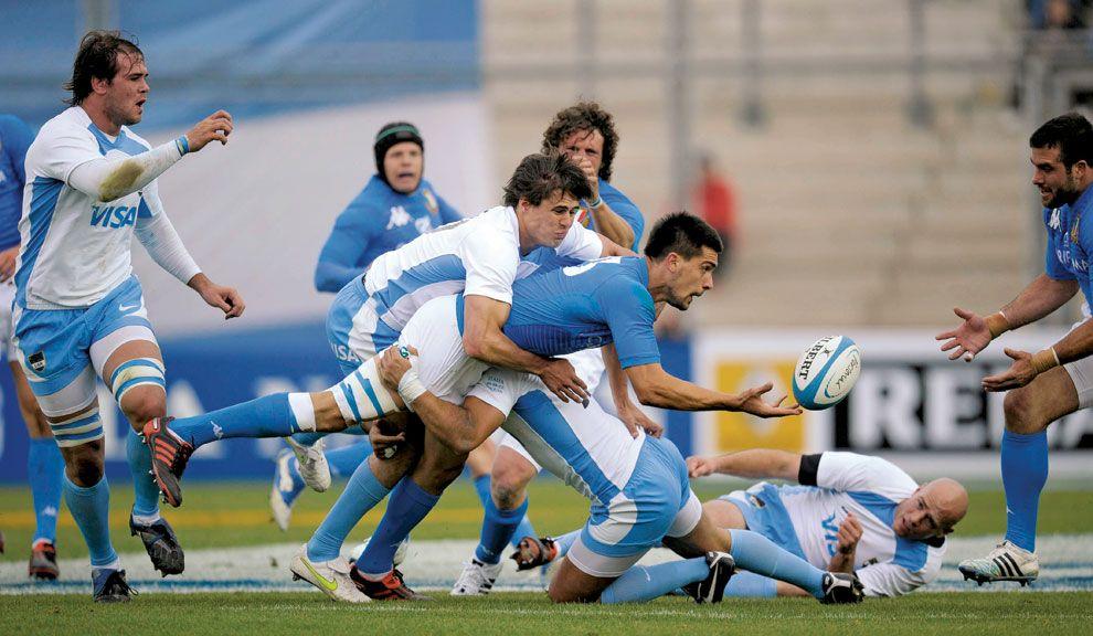 AMISTOSO. Primer encuentro con miras a  la Copa Cuatro Naciones  (el Rugby Championship), ante Italia, en San Juan.