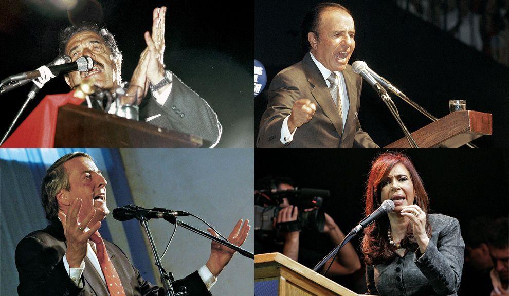 Presidentes. Cualquier proyecto político se propone como la liberación de un pasado injusto y la conquista de un futuro mejor.