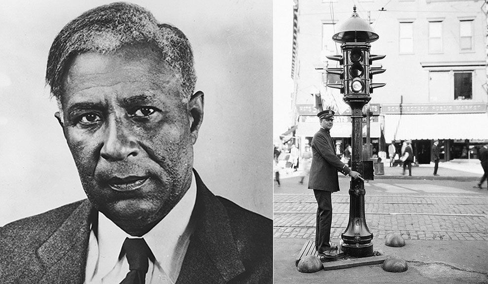 a biography of garret augustus morgan an american inventor It was morgan's experience while driving along the streets of cleveland that led to his invention of a traffic signal device the first american-made.
