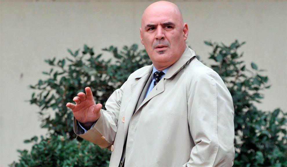 Mario Pontaquarto, llegando a los tribunales de Comodoro Py.