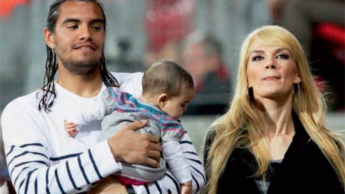 Picture of Sergio Romero Daughter, called Yazmin