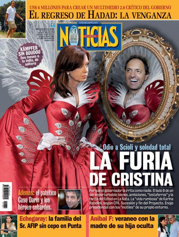 La furia de Cristina