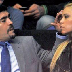 Diego Maradona y Veronica Ojeda