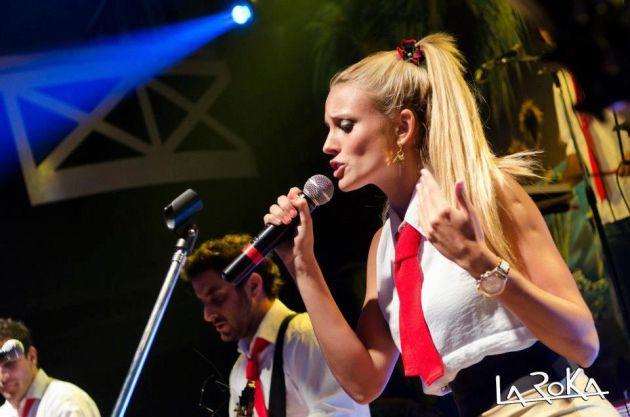 Melina Lezcano, la nueva cantante