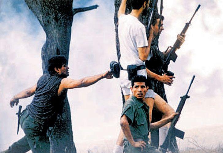 El país observó atónito como se desplegó el enfrentamiento.