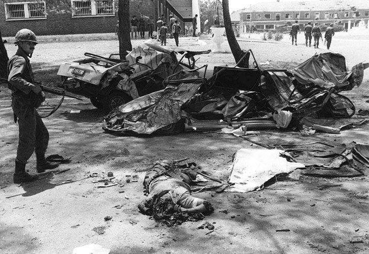 El saldo de víctimas dejó en evidencia la violencia política de la época.