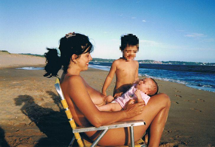 Opinion familias naturistas al desnudo pity, that