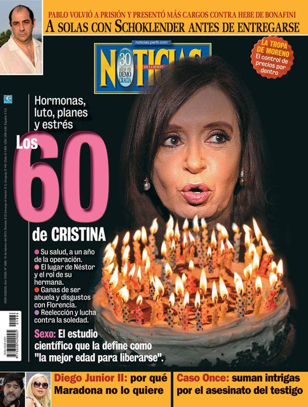 Los 60 de Cristina