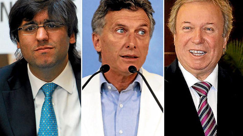 Diego Bossio, Mauricio Macri y Daniel Peralta, son algunos de los que están en falta con la Justicia.