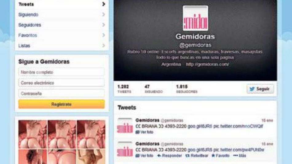 Sin control. Los perfiles de Twitter tienen miles de seguidores.