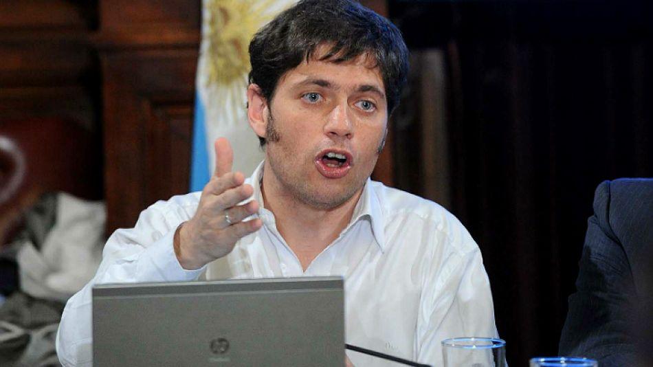 Kicillof, viceministro de Economía.