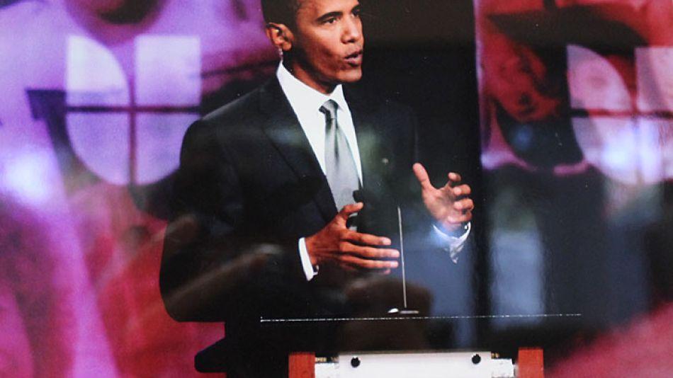 El 19 de setiembre de 2012, el presidente y entonces candidato Obama, hablaba ante 3,6 millones de televidentes de origen hispano por la cadena Univisión.