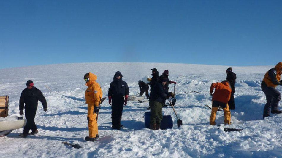 La base está ubicada en el territorio de la Antártida que la Argentina disputa con el Reino Unido.