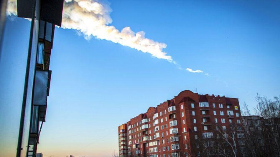 Medio millar de personas resultaron heridas como consecuencia de la caída de fragmentos de un meteorito en la provincia rusa de Cheliábinsk, en la zona de los Urales.
