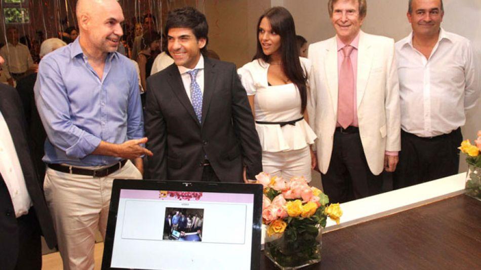 Rodríguez Larreta presentó el nuevo sistema en el día de San Valentín.