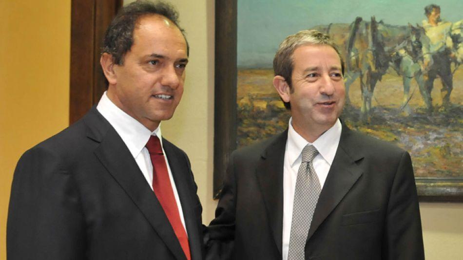 Cobos reconoció que se reunió con Scioli en diciembre.