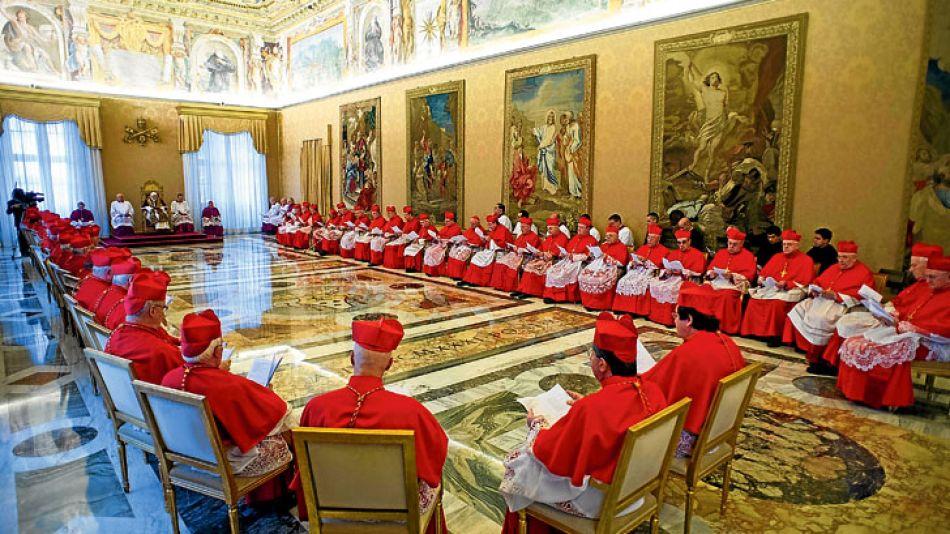 Cumbre. Un cónclave en el Vaticano se reunió este año para analizar el futuro de la Iglesia Católica.