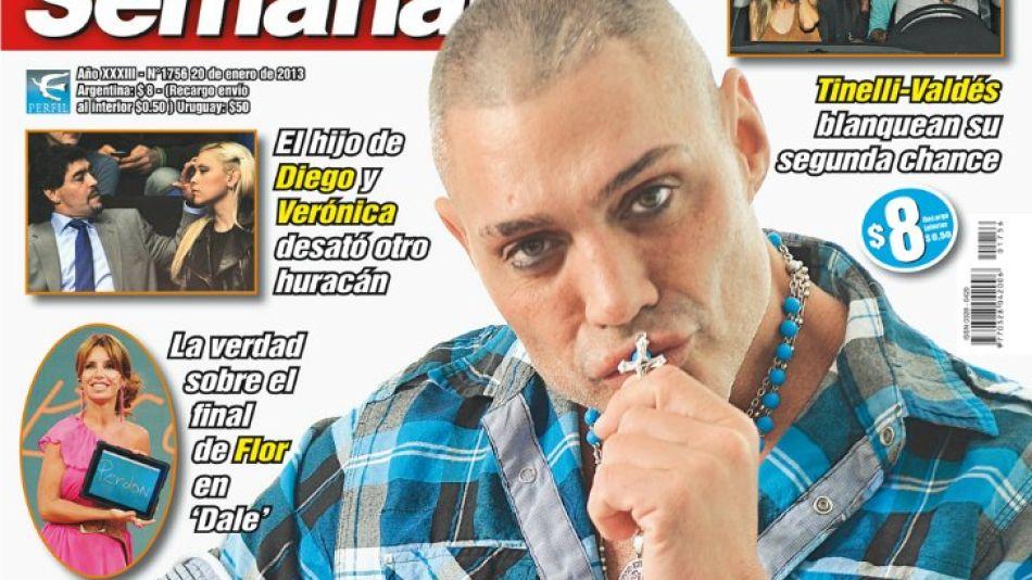 """Ricardo Fort da cuenta de su """"renovación"""" en Semanario."""