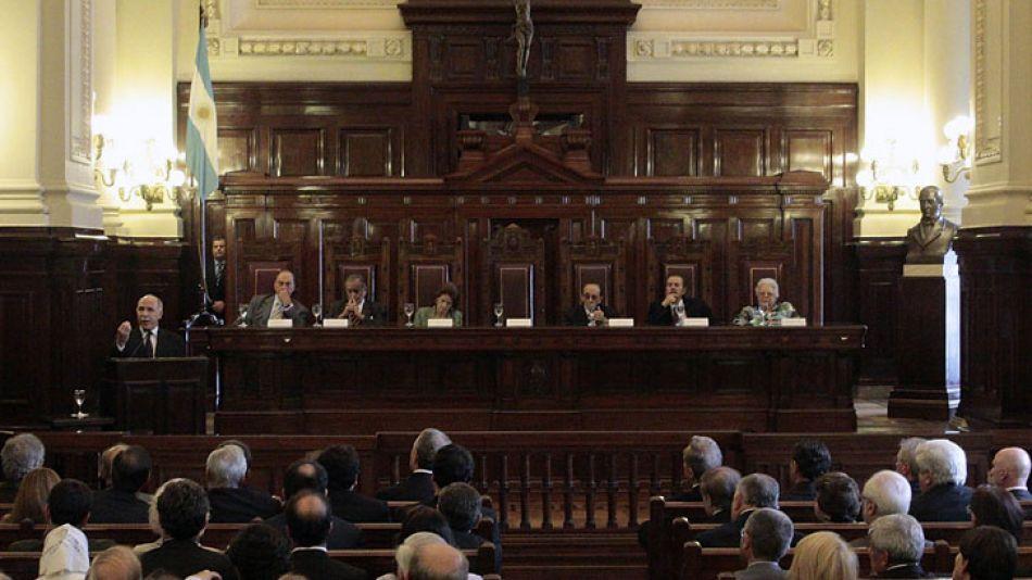 La Corte inauguró hoy el año judicial en tribunales.