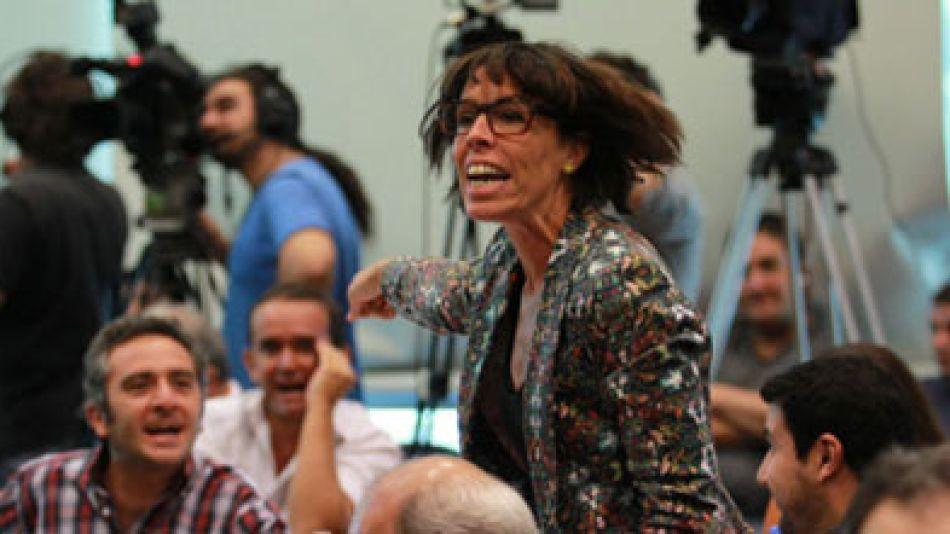 """""""Callate, atorranta"""", lanzó Larroque a Alonso."""