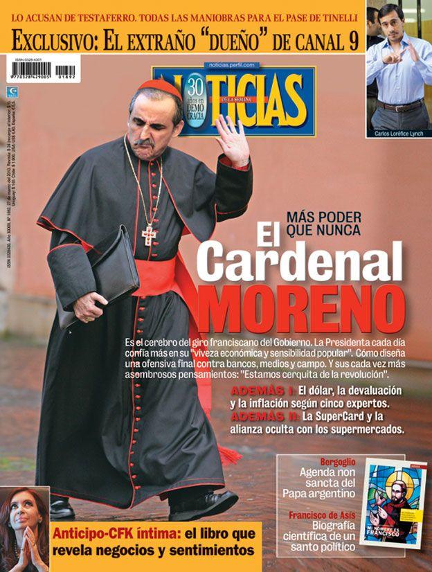 El Cardenal Moreno