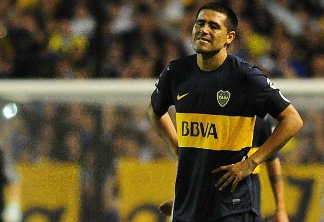 Riquelme sintió que a Boca sólo le falto meter un gol ante Nacional. / Fotobaires