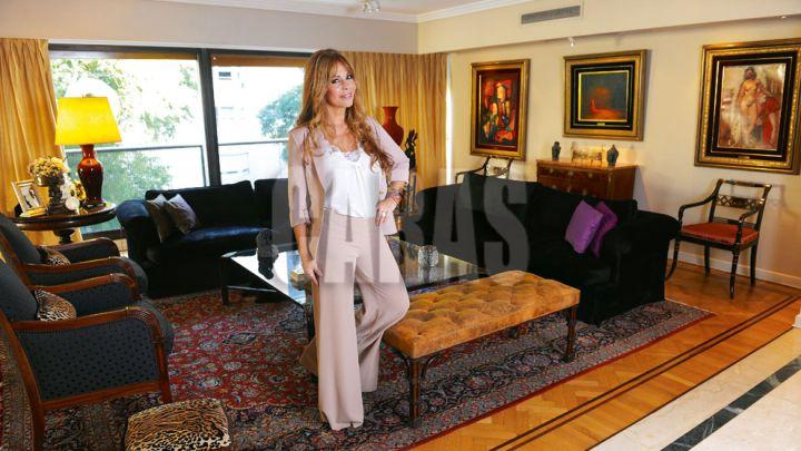 Graciela Alfano fue madrina de lujo en el millonario casamiento de su hijo