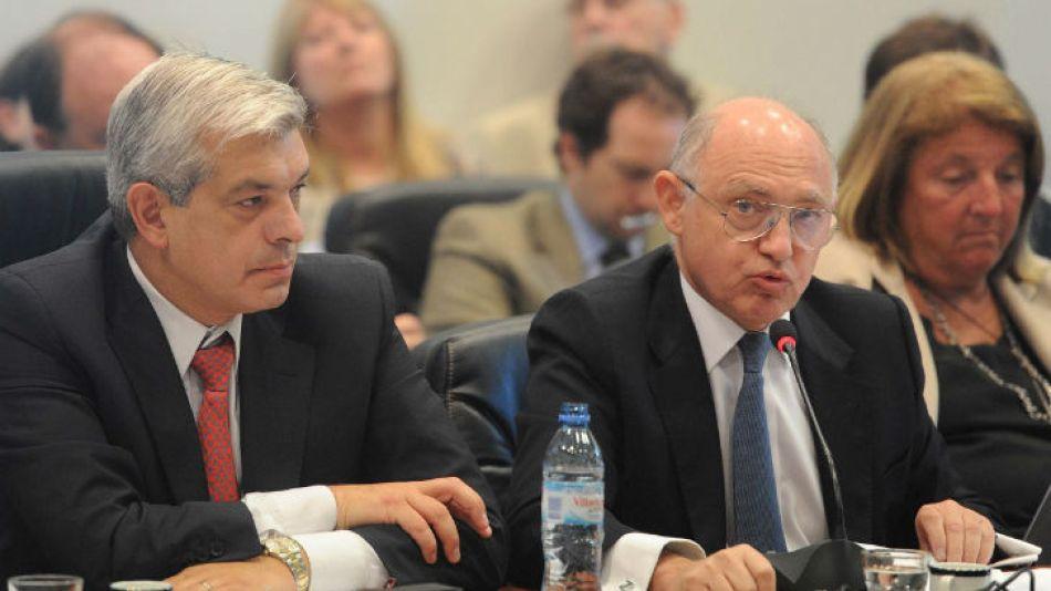 Timerman ante el plenario de comisiones en Diputados, el martes pasado.