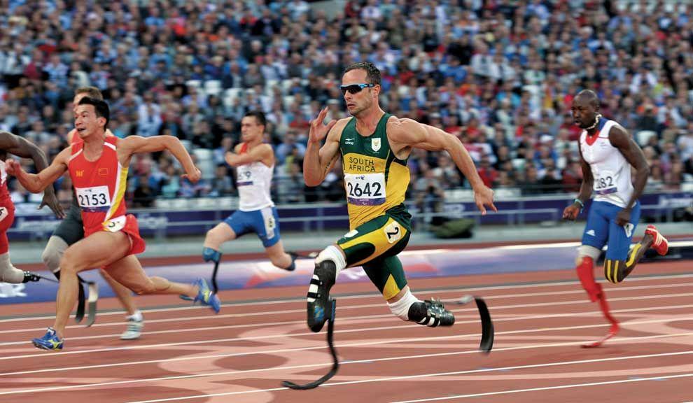 Bladerunner. El corredor Oscar Pistorius, ejemplo de lucha por la autosuperación, está acusado de asesinato.