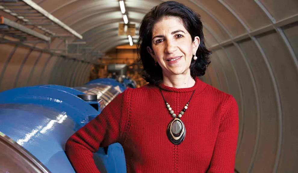 A cargo. Fabiola Gianotti coordinó a 3.000 científicos con la meta de hallar el bosón, partícula fundamental para entender el origen del Universo.