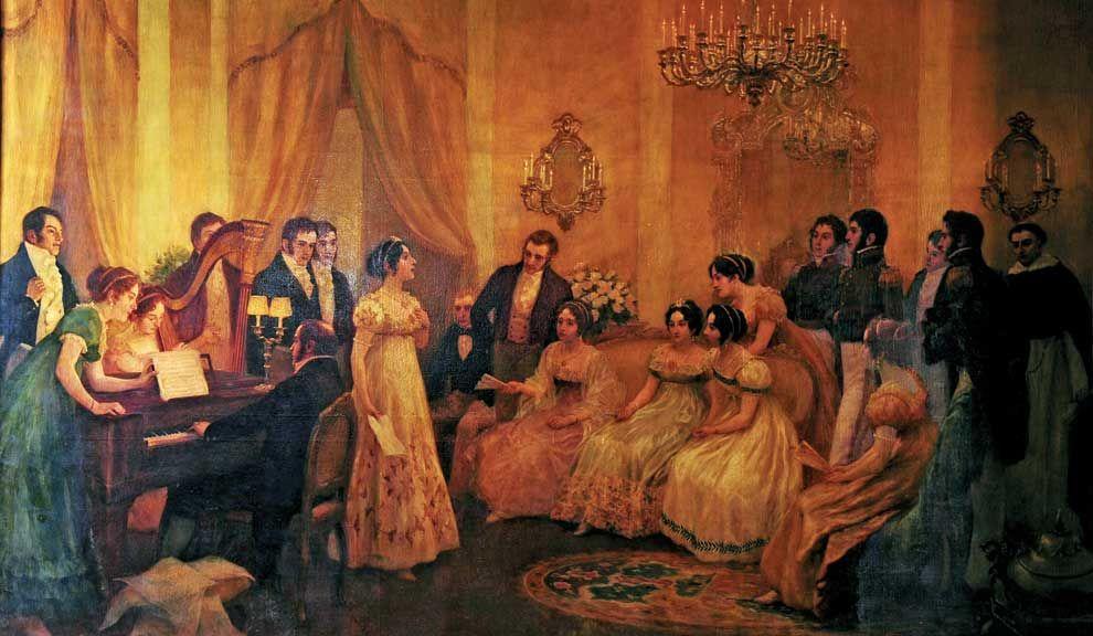 Aniversario. El 14 de mayo de 1813 se cantó por primera vez el Himno Nacional en la casa de Mariquita Sánchez de Thompson.