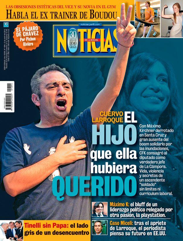 Tapa 1894 de la Revista Noticias