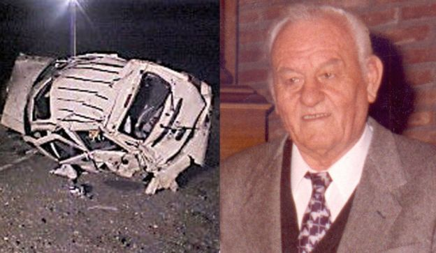 Victorio Gotti murió en un accidente de tránsito el 6 de abril de 2004.