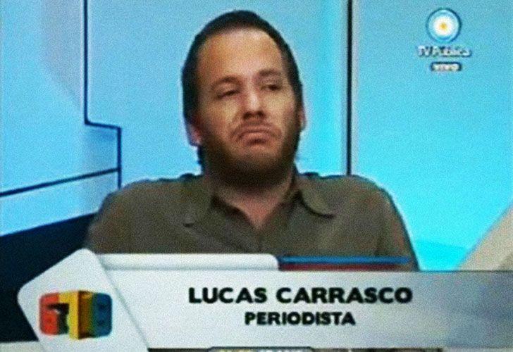 Resultado de imagen para imagenes periodista y bloguero Lucas Carrasco