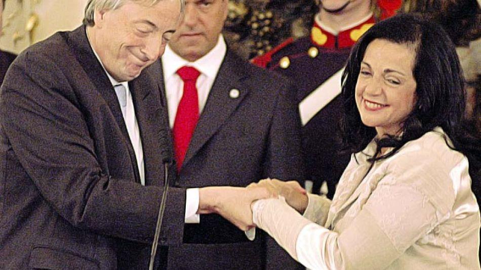 Nilda Garré vuelve a ser embajadora en un cargo fuera del Ejecutivo.