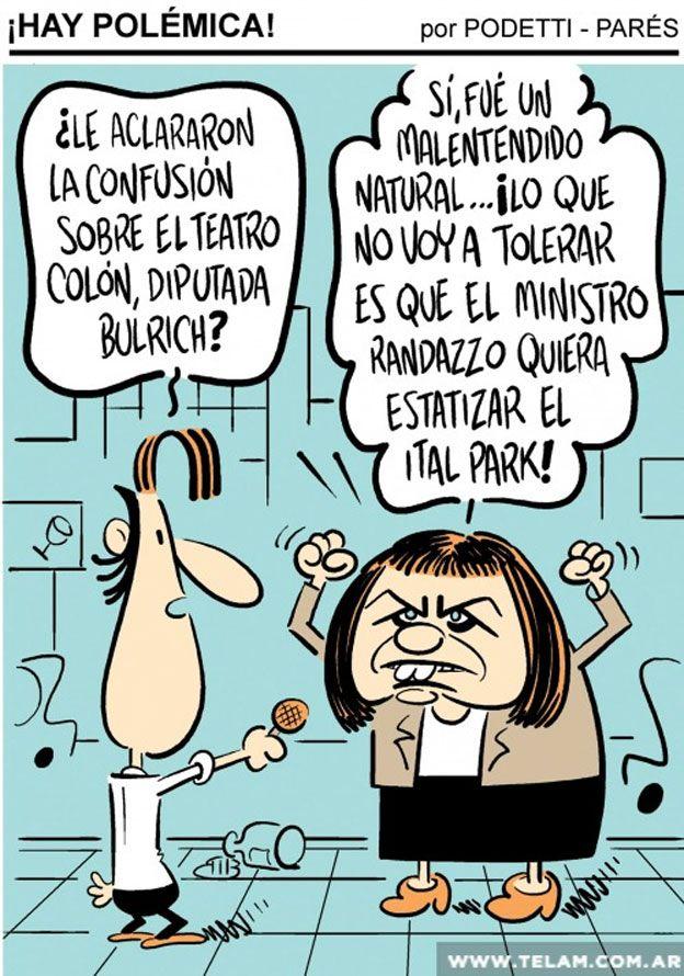 Caricatura Oposición