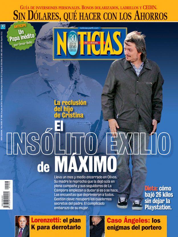 El insólito exilio de Máximo K