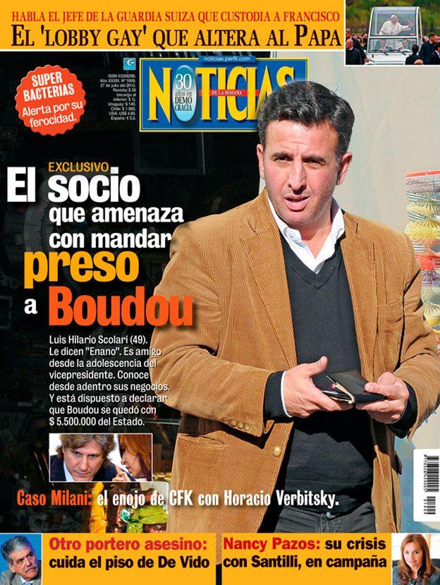 El socio que amenaza con mandar preso a Boudou