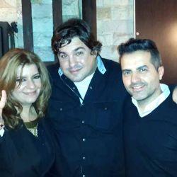 Angel de Brito, Andrea Taboada, Leo Cohen Arazi