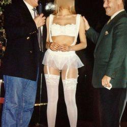 Martins y Rubio con una mujer