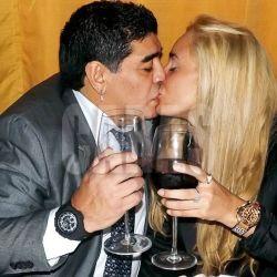 Diego Maradona y Rocio