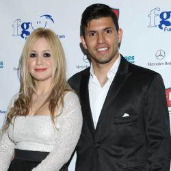 Karina y el Kun Aguero