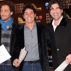 Luciano Caceres, Sebastian Estevanez y Juan Darthes