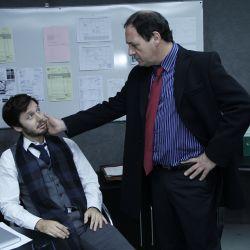 Pedro herido y Guillermo