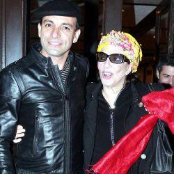 Martin Bossi y Graciela Borges
