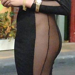 Charlotte Caniggia en La Pelu