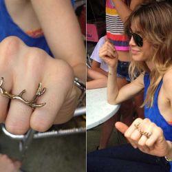 Guillermina con el anillo