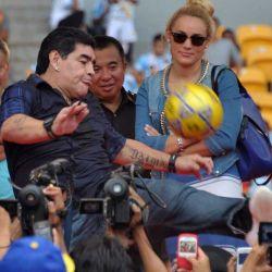 Maradona en Indonesia