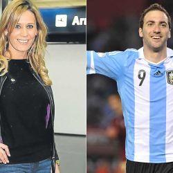 """Rocío Marengo y el """"Pipita"""" Higuaín"""